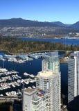 koniec Vancouver west Obrazy Stock