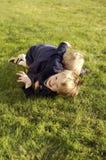 koniec zabawy chłopcze fotografia royalty free