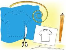 Koszulka projekt Zdjęcie Stock