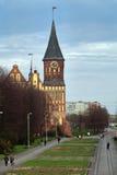 Konigsberg大教堂 库存图片