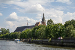 Konigsberg Cathedral. Royalty Free Stock Photography