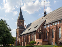 Konigsberg Cathedral. Royalty Free Stock Images