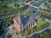 Konigsberg Cathedral. Kaliningrad, formerly Koenigsberg, Russia Royalty Free Stock Image