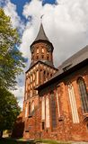 Konigsberg Cathedral (1333) in Kaliningrad, Russia Stock Image