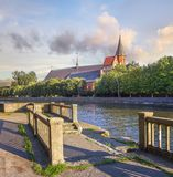 Konigsberg Cathedral on Kant Island. Kaliningrad, Russia. Royalty Free Stock Photos