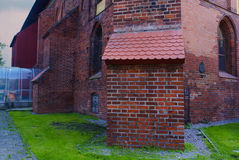 Konigsberg Cathedral side view Royalty Free Stock Image