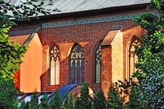 Konigsberg Cathedral on a summer evening. Kaliningrad, Russia Stock Image