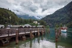 Konigsee -巴伐利亚-德国 免版税库存照片