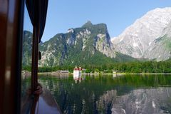 Konigsee. Germany Alps lake travel Royalty Free Stock Image