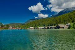 Konigsee Lake Boat Tour. Konigsee Lake of Bavaria Germany Boat Tour Cruise royalty free stock photos
