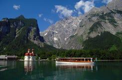 konigsee ST εκκλησιών bartholoma Στοκ εικόνες με δικαίωμα ελεύθερης χρήσης