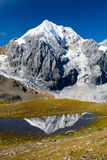 Konigspitze. (3859 m) from Madritsch. Sulden, Italy Royalty Free Stock Photography
