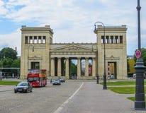 Konigsplatz - Propylaen Στοκ φωτογραφία με δικαίωμα ελεύθερης χρήσης