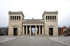 Konigsplatz - re Square, capitale dello Stato Monaco di Baviera, Baviera, Monaco di Baviera, Germania immagini stock libere da diritti