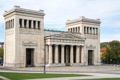 Konigsplatz - reyes Square, Capital del Estado Munich, Baviera, Munich, Alemania imagen de archivo