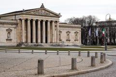 Konigsplatz - Square,国家资本慕尼黑,巴伐利亚,慕尼黑,德国国王 库存图片