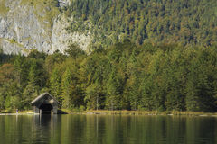 Konigssee, Allemagne Image stock