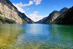 Konigssee Lake Royalty Free Stock Photography