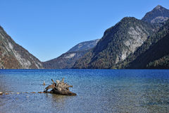 Konigssee lake in daytime Royalty Free Stock Photo