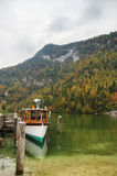 Konigssee lake, Germany Royalty Free Stock Image