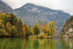 Konigssee lake, Germany Stock Photography