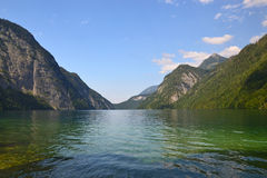 Konigssee Lake Royalty Free Stock Images