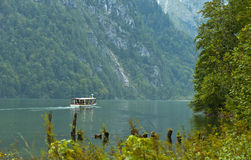 Konigssee Landscape Royalty Free Stock Photography