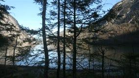 Konigssee, opinión del lago en Alemania almacen de video
