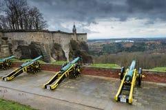 Konigstein-Festung Stockbilder