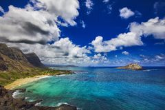 Konijneiland Makapuu Hawaï royalty-vrije stock fotografie