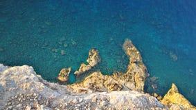 Konijneiland op Lampedusa, Sicilië Stock Foto