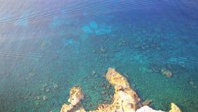 Konijneiland op Lampedusa, Sicilië Royalty-vrije Stock Afbeeldingen