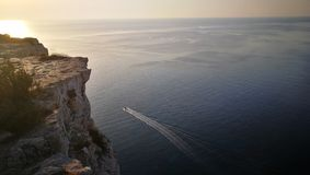 Konijneiland op Lampedusa, Sicilië Royalty-vrije Stock Foto's