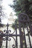 Konin,波兰 小波兰镇历史的犹太教堂叫Konin 更加伟大的波兰省 库存图片