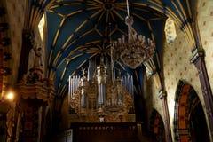 Konin, Gemeindekirche Lizenzfreies Stockfoto