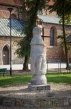 Konin Polen Den äldsta polen - vägmärke i Polen Större Polen landskap Royaltyfri Foto