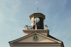 Konin, Pologne Hôtel de ville historique Une plus grande province de la Pologne photos stock