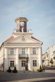 Konin, Pologne Hôtel de ville historique Une plus grande province de la Pologne image libre de droits