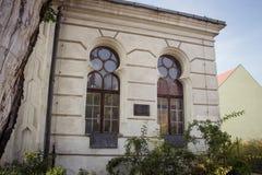 Konin, Pologne La synagogue historique de la petite ville polonaise a appelé Konin Une plus grande province de la Pologne photo stock