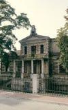 Konin, Pologne Palais abandonné et négligé du ` s d'Edward Raymond photographie stock