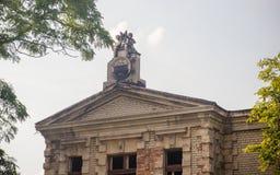 Konin, Pologne Palais abandonné et négligé du ` s d'Edward Raymond image stock