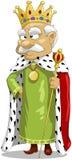 Koning royalty-vrije illustratie