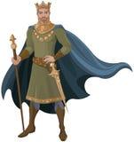 Koning stock illustratie