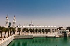 Koning Abdullah Grand Mosque, Koning Abdullah University van Wetenschap en Technologie, Thuwal, Saudi-Arabië stock foto