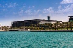Koning Abdullah University van Wetenschap en Technologiecampus, Thuwal, Saudi-Arabië royalty-vrije stock fotografie