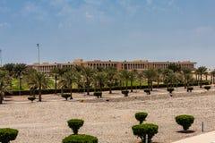 Koning Abdullah University van Wetenschap en Technologiecampus, Thuwal, Saudi-Arabië stock fotografie