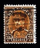 Koning Albert I, serie, circa 1932 Royalty-vrije Stock Foto