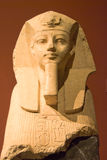 Koning Amenophis III als Sfinx Stock Fotografie