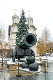 Koning Cannon Het Kanon van de tsaar Royalty-vrije Stock Foto's