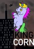 Koning Corn royalty-vrije stock afbeelding